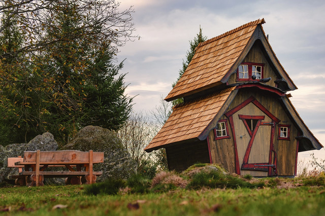 Hexenhäuschen auf dem Lautenbacher Hexensteig