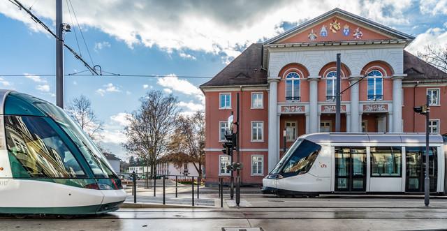 Die Tram Kehl-Straßburg