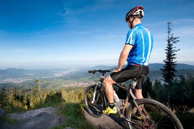 Mountainbiken im Murgtal