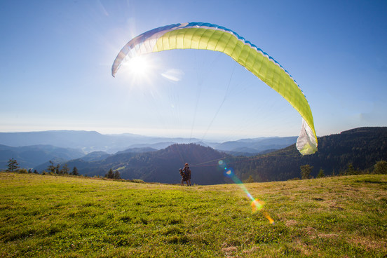 Paragliding im Renchtal