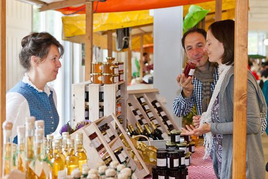 Naturpark Genuss-Messe (Marktstand)